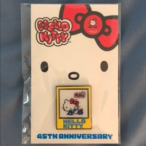 Hello Kitty 45th Anniversary July Pin